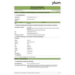 Plum Hånddesinfektion 85 % Gel i bag-in-boks, 1 L