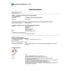 Rengöringsspray Klorin Power Mousse 500 ml