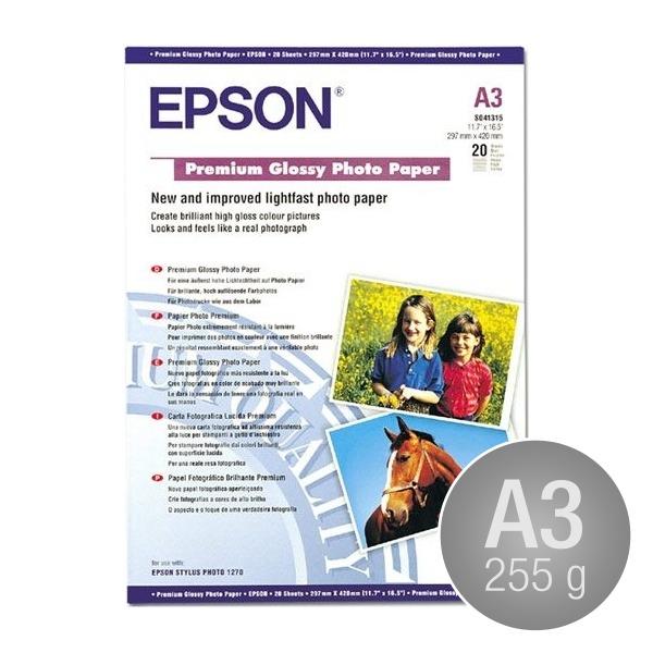 Epson C13S041315 gloss, A3/255g/20ark