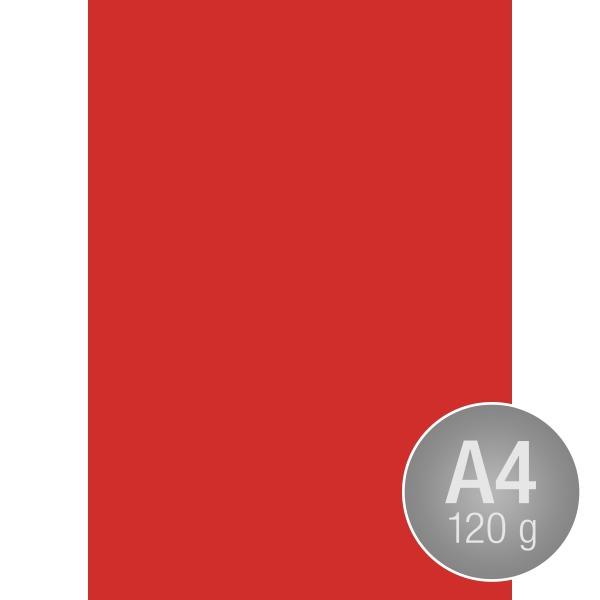 Image Coloraction A4, 120g, 250ark, koralrød