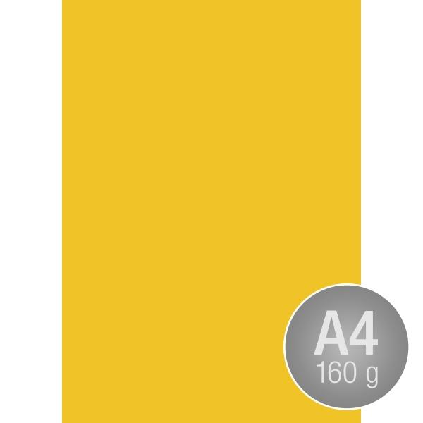 Image Coloraction A4, 160g, 250ark, rapsgul