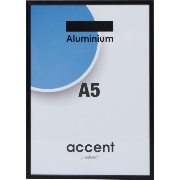 Accent Fotoramme A5, sort