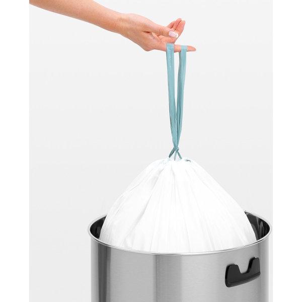Brabantia Push Bin 60 liter, mat stål