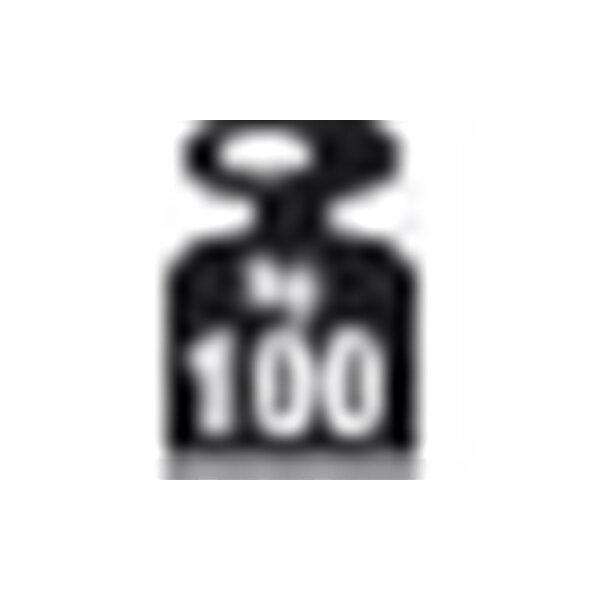 META Clip 100 kg, 100x60, 1 x hylde, Galvanis