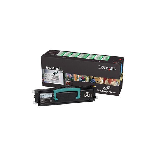 Lexmark E450A11E lasertoner, sort, 6000s