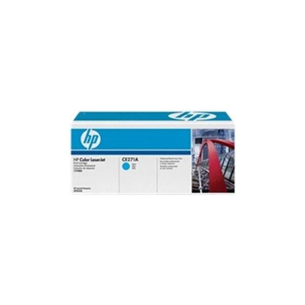 HP CE271A lasertoner, blå, 15000s