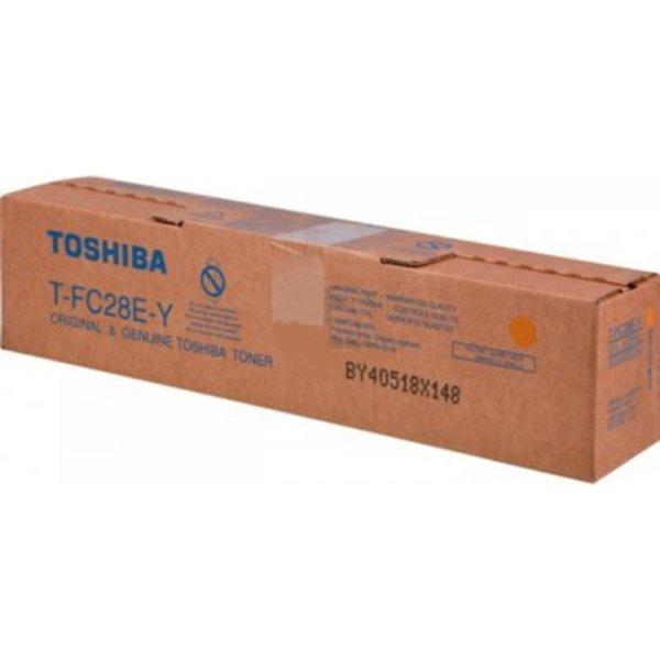 Toshiba TFC28EY lasertoner, gul, 24000s