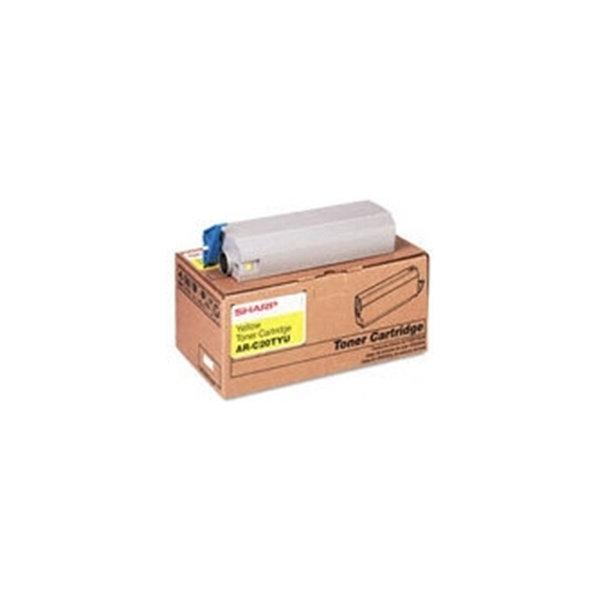 Sharp MX-27GTYA lasertoner, gul, 15000s
