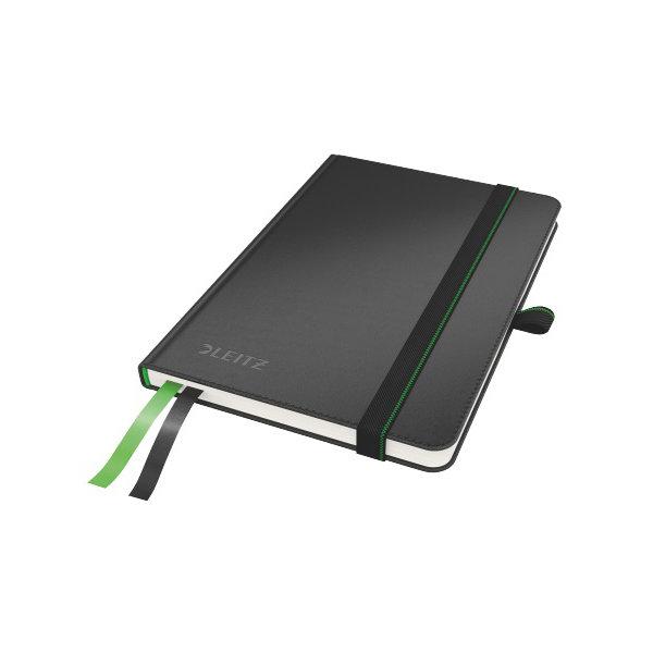 Leitz Complete notesbog A6, linjeret, sort