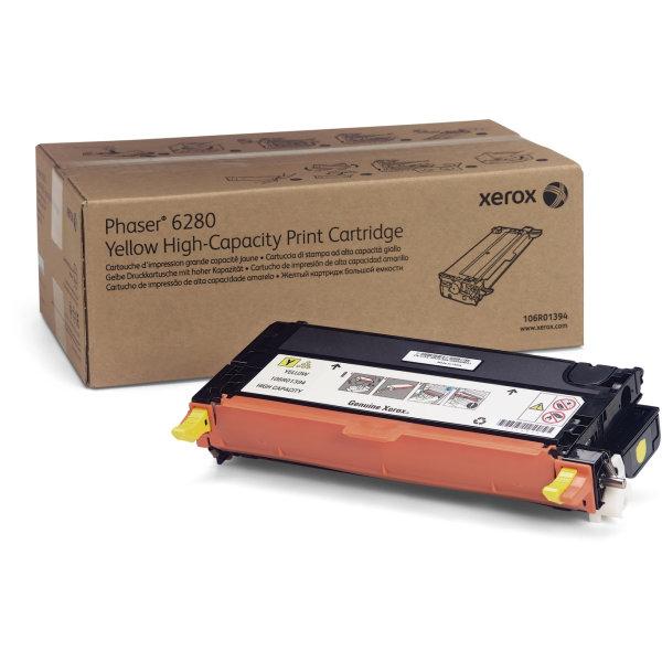 Xerox 106R01394 lasertoner, gul, 5900s