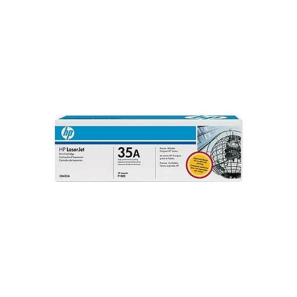 HP nr.35A/CB435A lasertoner, sort, 1500s