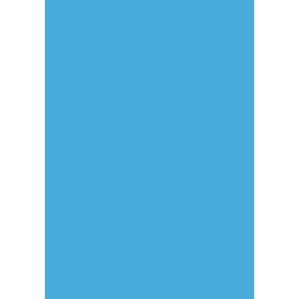 Karton Play Cut, A2, 180g, 100ark, kongeblå