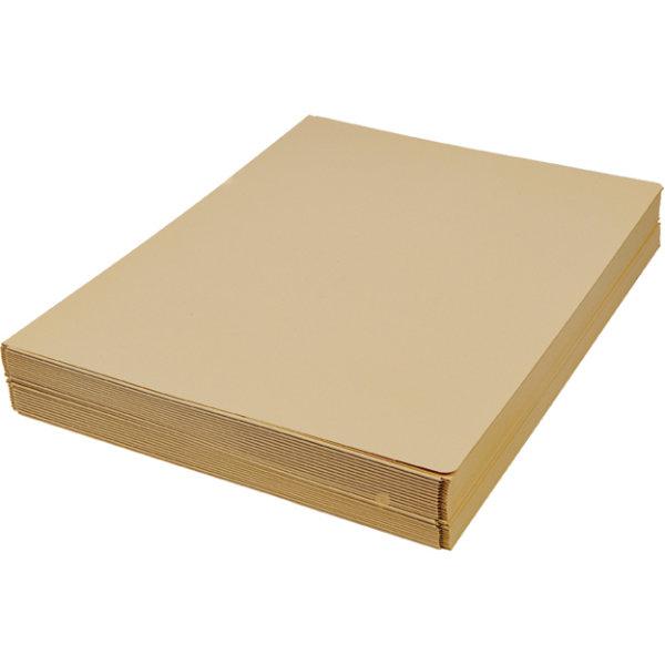 DKF Kartonmappe nr. 105/3, A4, gul