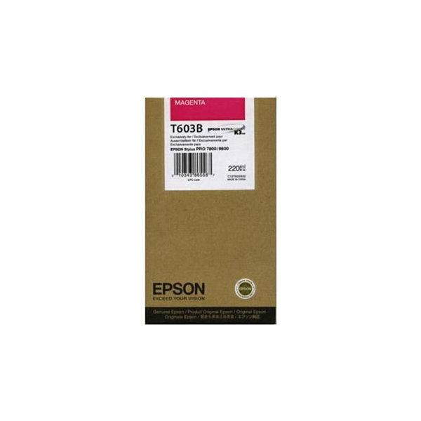 Epson C13T603B00 blækpatron, rød, 220ml