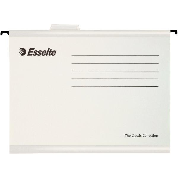 Esselte Classic hængemapper A4, hvid