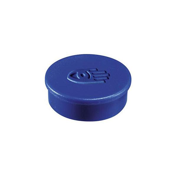 Legamaster supermagneter, 35 mm, blå, 10 stk