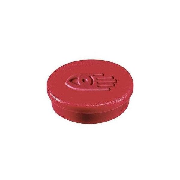 Legamaster magneter, 20 mm, rød, 10 stk