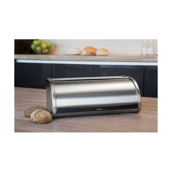 Brabantia Roll Top Brødkasse, mat stål