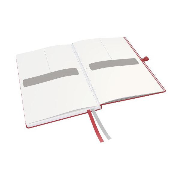 Leitz Complete notesbog A5, kvadreret, rød