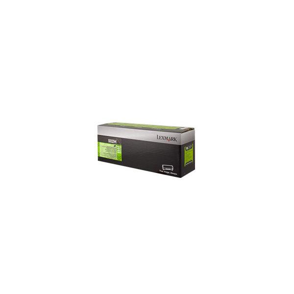 Lexmark 502H toner sort, 5000 s