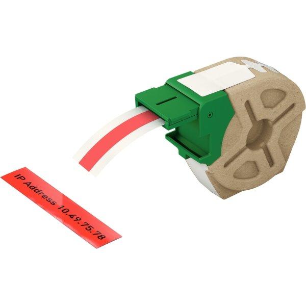 Leitz Labelpatron PP, 12 mm x 10 m, rød