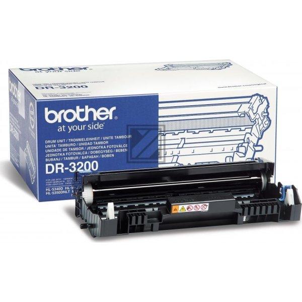 Brother DR3200 lasertromle, sort, 25000s