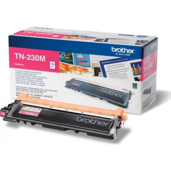 Brother TN230M lasertoner, rød, 1400s