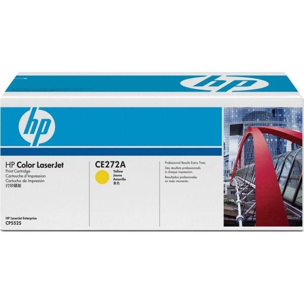 HP CE272A lasertoner, gul, 15000s