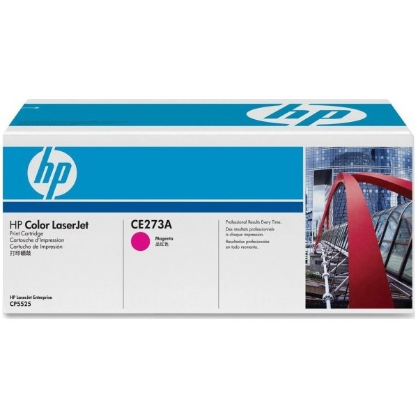 HP CE273A lasertoner, rød, 15000s