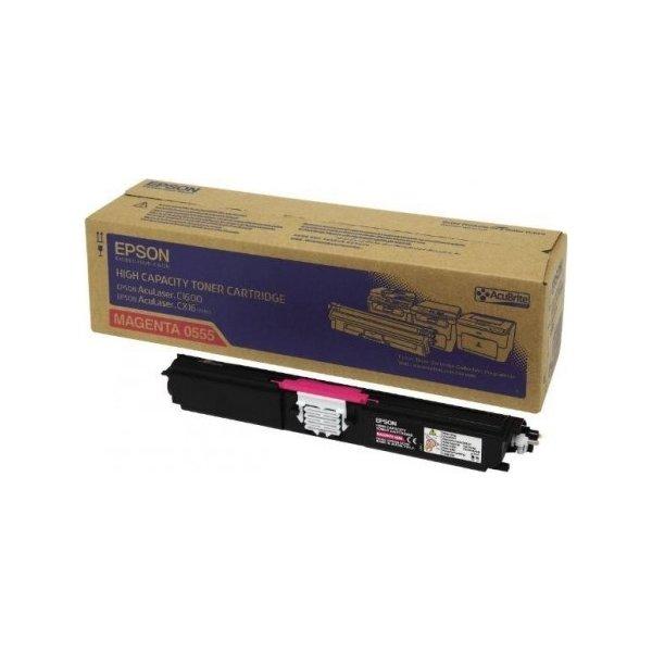 Epson C13S050555 lasertoner, rød, 2700s