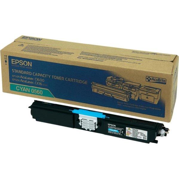 Epson C13S050560 lasertoner, blå, 1600s
