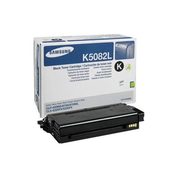 Samsung CLT-K5082L lasertoner, sort, 5000s