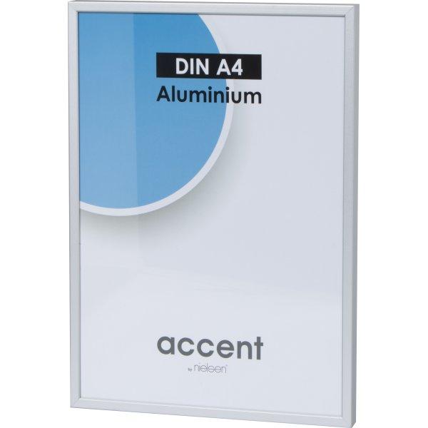 Accent Skifteramme A4, sølv