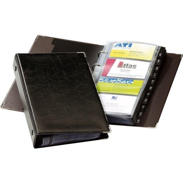 Durable Visifix visitkortmappe til 96 kort, ringm.