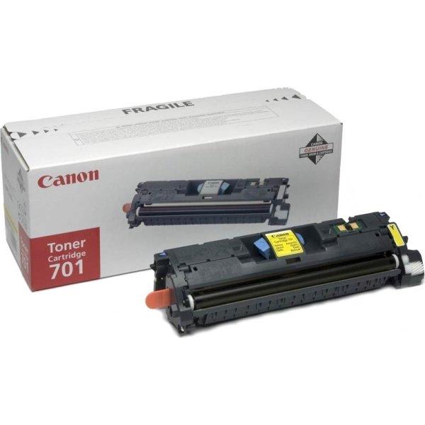 Canon nr.701LY/9288A003 lasertoner, gul, 2000s