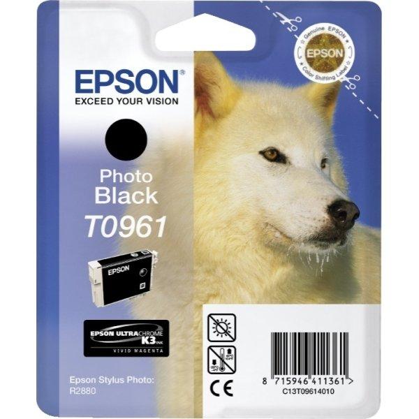 Epson nr.T0963/C13T09614010 blækpatron, sort, 450s