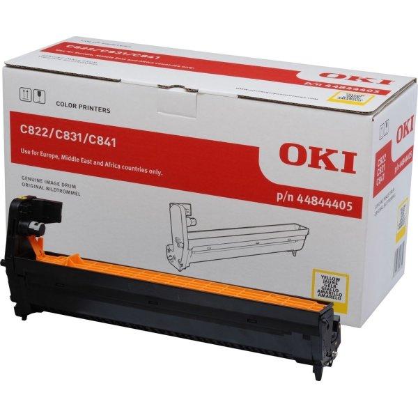 OKI 44315105 lasertromle, gul, 20000s
