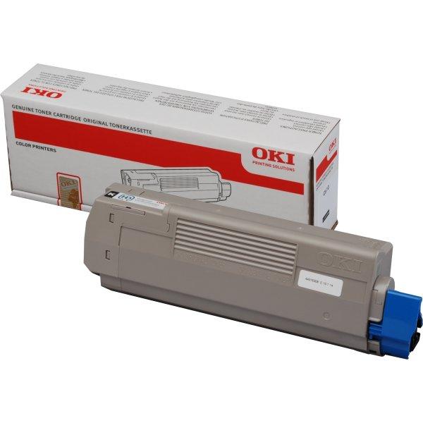 OKI 44315308 lasertoner, sort, 8000s