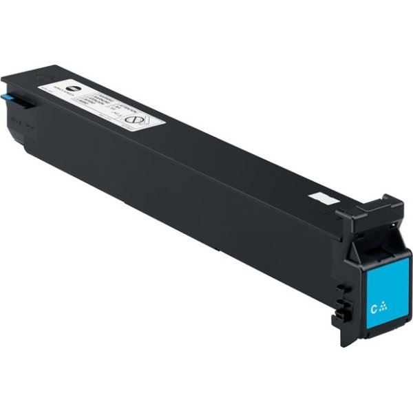 Konica Minolta TN213C lasertoner, blå, 19.000 side