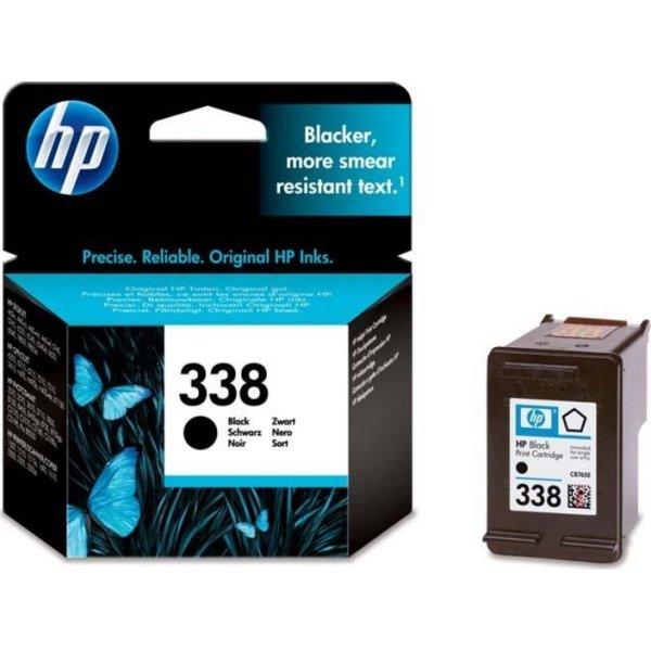 HP nr.338/C8765EE blækpatron, sort, 400s