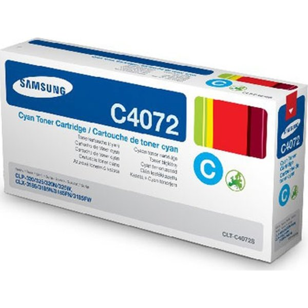 Samsung CLT-C4072S lasertoner, blå, 1000s