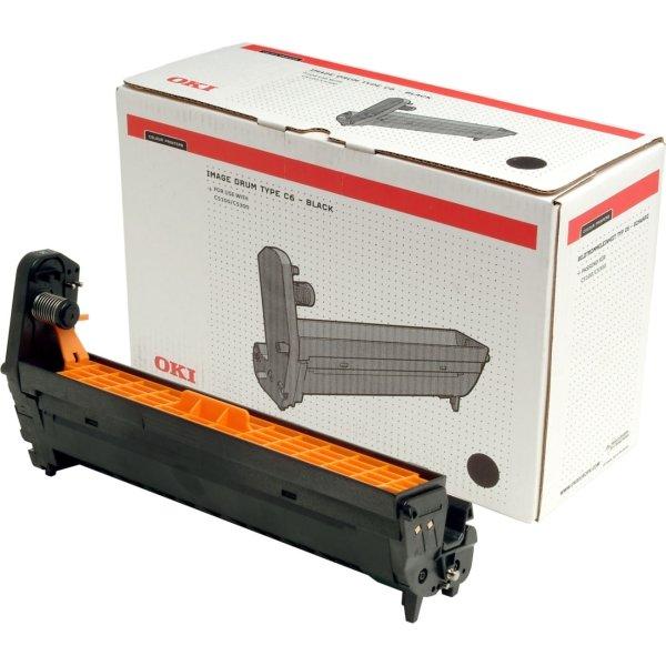 OKI 44035518 lasertromle, rød, 30000s