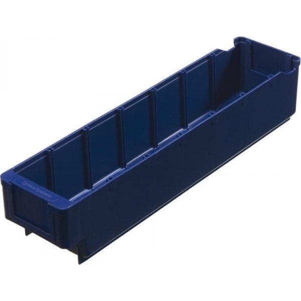Arca systembox, (LxBxH) 400x94x80 mm, 2,4 L, Blå