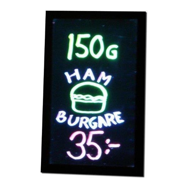 Lightsign A3 LED lysskilt til væg