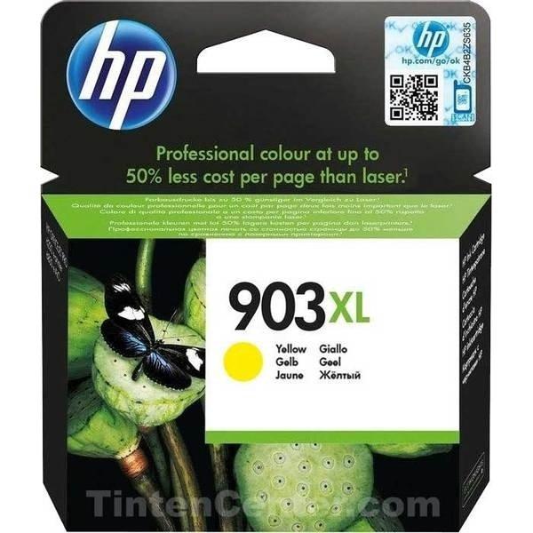 HP no.903XL/T6M11AE blækpatron, gul 825 sider
