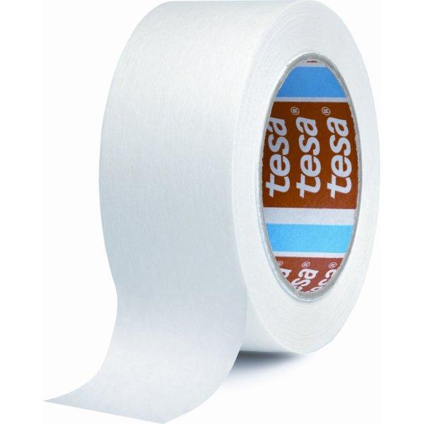tesa Papir pakketape 50 mm, hvid