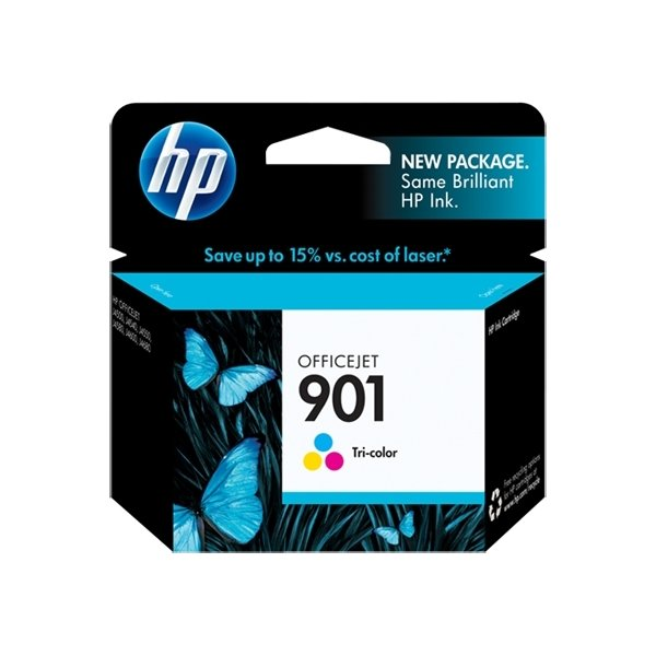 HP nr.901/CC656AE blækpatron, 3-farvet, 360s