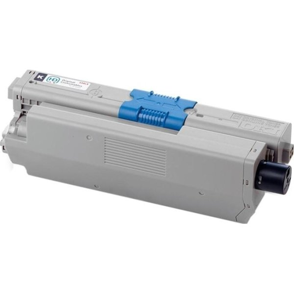 OKI 44469804 lasertoner, sort, 5000s