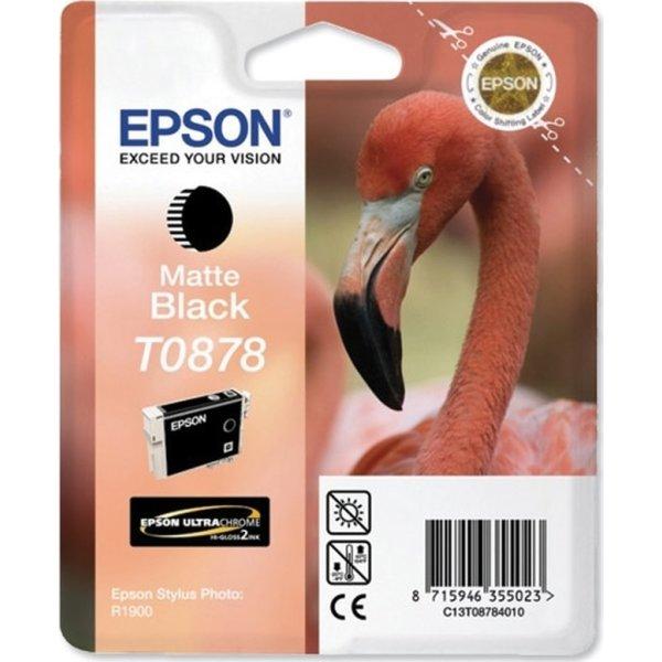 Epson nr.T0878/C13T08784010 blækpatron, mat sort,