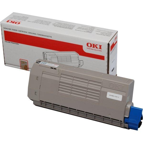 OKI 44318608 lasertoner, sort, 11000s